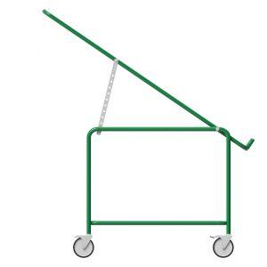 Präsent | Warenpräsentation – Butler X – Höhenverstellbar